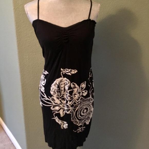 05fbc02f202 Max Studio Casual Floral Beach Dress